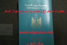 استخراج الباسبور المصري